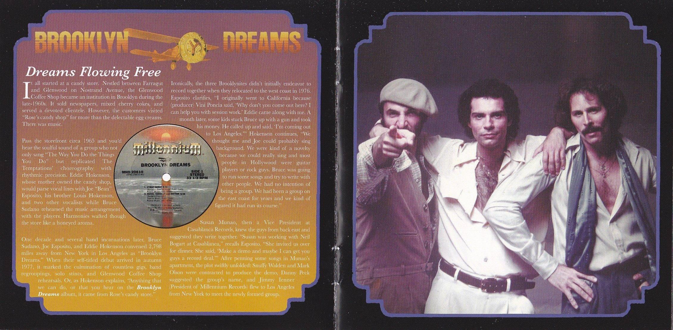 Brooklyn Dreams - Brooklyn Dreams (1977) {2010 Remastered