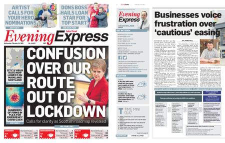Evening Express – February 24, 2021