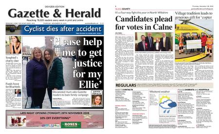 Gazette & Herald – November 28, 2019