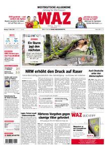 WAZ Westdeutsche Allgemeine Zeitung Oberhausen-Sterkrade - 11. März 2019