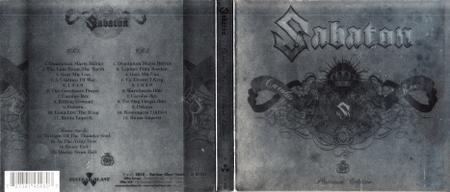 Sabaton - Carolus Rex (2012) [2018, 2CD Limited Edition]