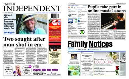 Enfield Independent – August 05, 2020