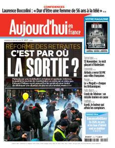 Aujourd'hui en France - 10 Janvier 2020