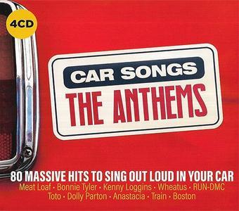 VA - Car Songs The Anthems (4CD, 2019)