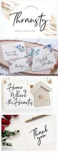 Thransty Handwritten Script Font