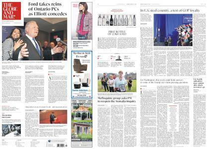 The Globe and Mail – March 12, 2018