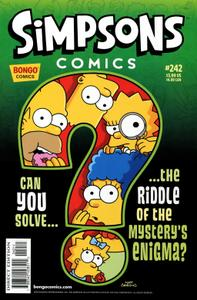 Simpsons Comics 242 2017 c2c GreenGiant