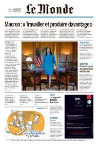 Le Monde du Mardi 16 Juin 2020