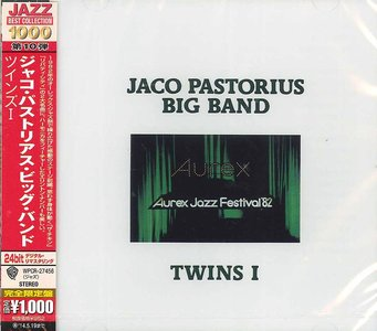 Jaco Pastorius Big Band - Twins I (1982) {2013 Japan Jazz Best Collection 1000 Series WPCR-27456}