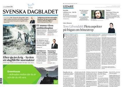 Svenska Dagbladet – 13 mars 2018