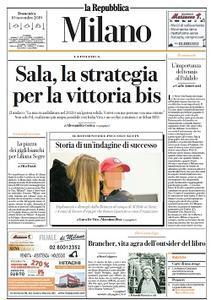 la Repubblica Milano - 10 Novembre 2019