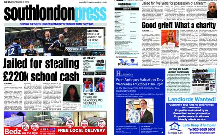 South London Press – October 09, 2018
