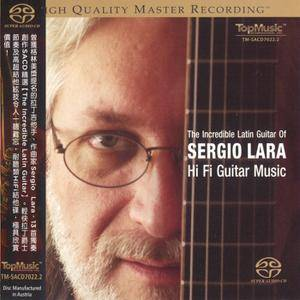 Sergio Lara - The Incredible Latin Guitar (2014) PS3 ISO + Hi-Res FLAC