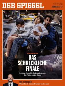 Der Spiegel - 28 August 2021