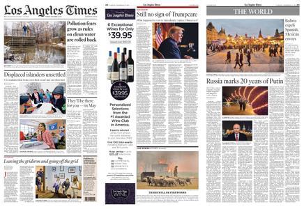 Los Angeles Times – December 31, 2019