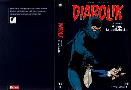 Gli Eroi Del Fumetto Di Panorama - Diabolik - Anna, La Poliziotta