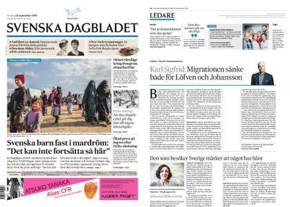 Svenska Dagbladet – 13 september 2019