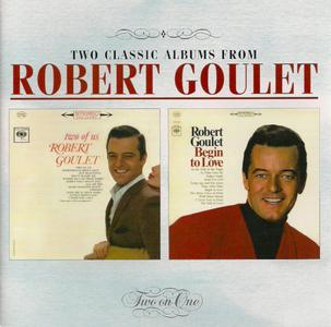 Robert Goulet - Two Of Us (1962) & Begin To Love (1965) [2003, Reissue]
