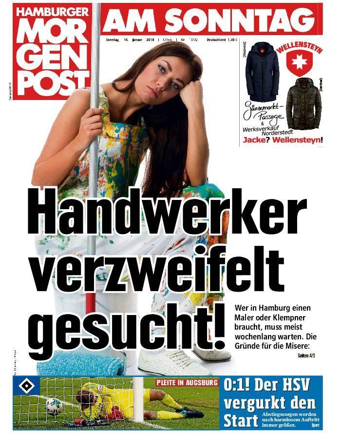 Hamburger Morgenpost - 14. Januar 2018