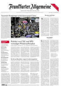 Frankfurter Allgemeine Zeitung - 25 Mai 2020