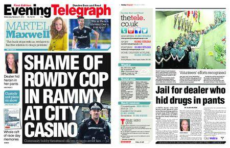 Evening Telegraph First Edition – February 21, 2018
