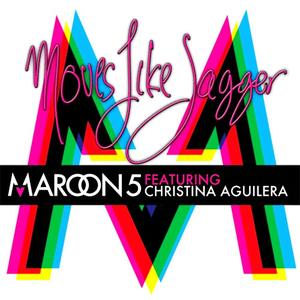 Maroon 5 featuring Christina Aguilera - Moves Like Jagger (Europe CD single) (2011) {A&M Octone}