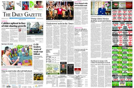 The Daily Gazette – June 10, 2019
