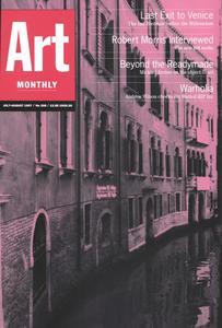 Art Monthly - Jul-Aug 1997   No 208