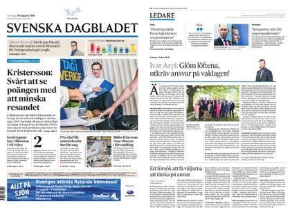Svenska Dagbladet – 30 augusti 2018