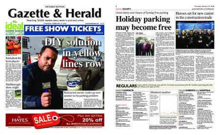 Gazette & Herald – February 21, 2019