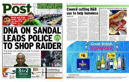 Nottingham Post – August 23, 2017