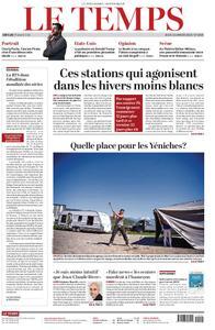 Le Temps - 10 janvier 2019