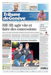 Tribune de Genève du 14 Février 2017