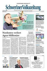 Schweriner Volkszeitung Hagenower Kreisblatt - 13. Juni 2018