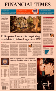 Financial Times Europe – 02 August 2019
