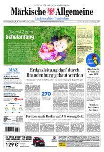Märkische Allgemeine Luckenwalder Rundschau - 18. August 2018