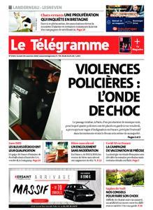 Le Télégramme Landerneau - Lesneven – 28 novembre 2020