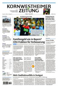 Kornwestheimer Zeitung - 11. Januar 2019