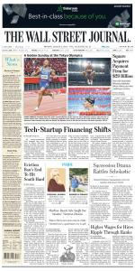 The Wall Street Journal - 2 August 2021