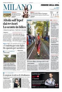 Corriere della Sera Milano – 25 settembre 2020