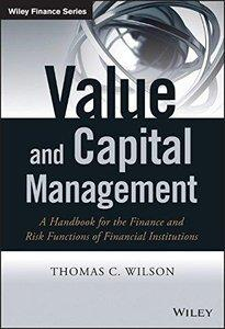 Value and Capital Management: A Handbook for the Finance and Risk Functions of Financial Institutions (repost)