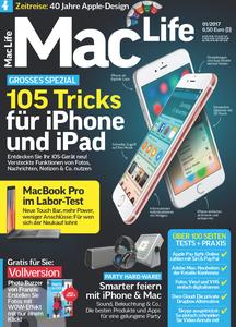 Mac Life Germany No. 01 - Januar 2017