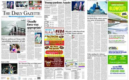 The Daily Gazette – August 26, 2017