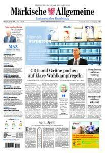 Märkische Allgemeine Luckenwalder Rundschau - 02. Mai 2018
