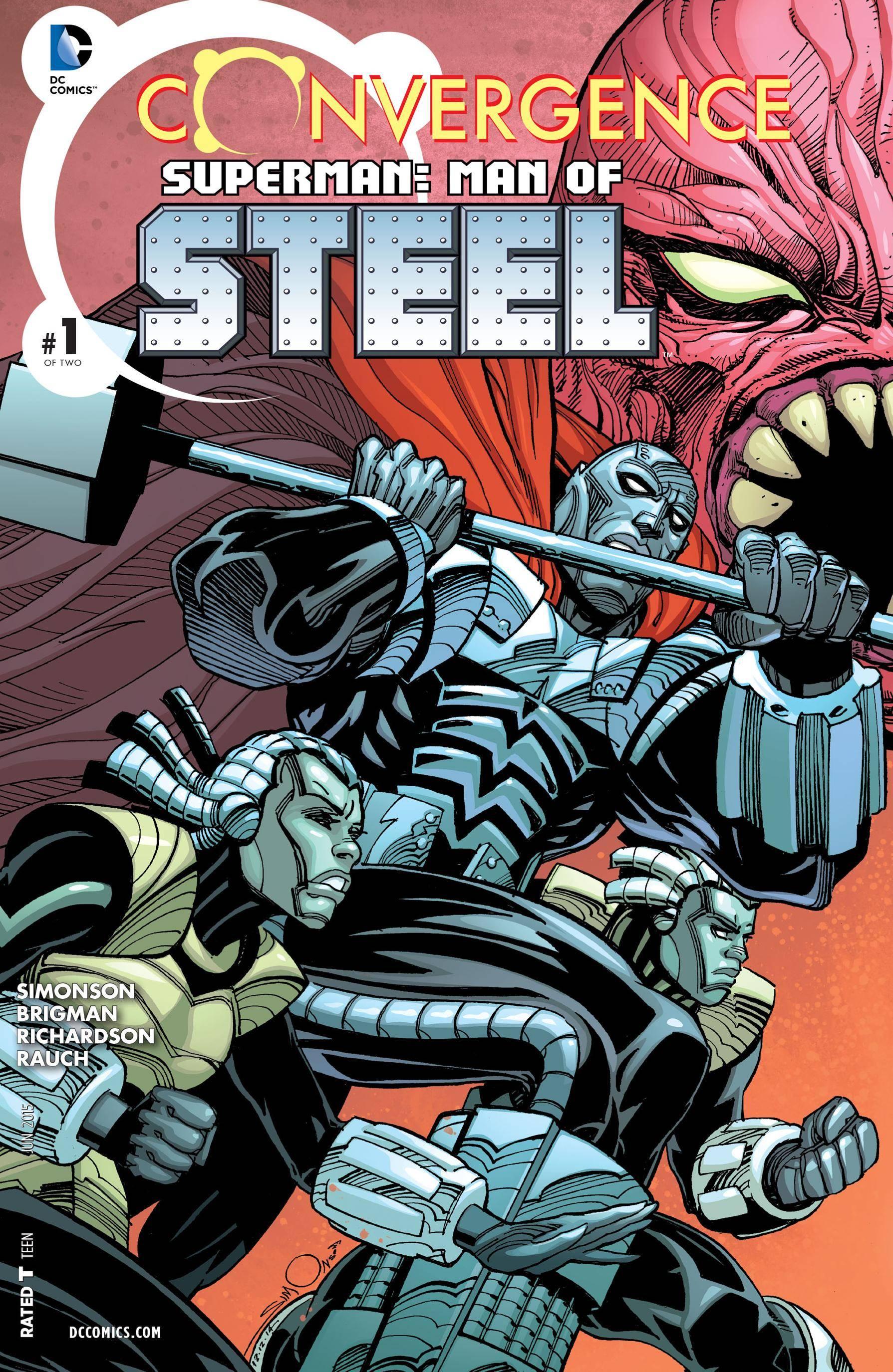 Convergence - Superman - Man of Steel 001 2015 Digital