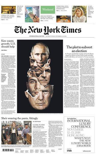 International New York Times - 22-23 September 2018
