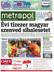 Metro [Hungary - Budapest], 13. Januar 2014