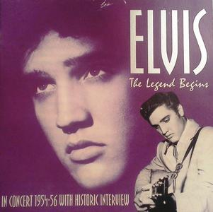 Elvis Presley - The Legend Begins (In Concert 1954-56) (1995)