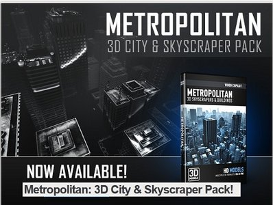 VideoCopilot: Metropolitan - 3D City & Skyscraper Pack