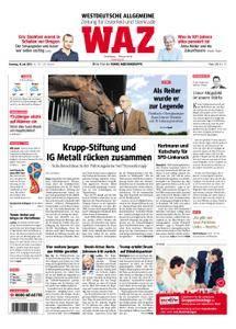 WAZ Westdeutsche Allgemeine Zeitung Oberhausen-Sterkrade - 10. Juli 2018